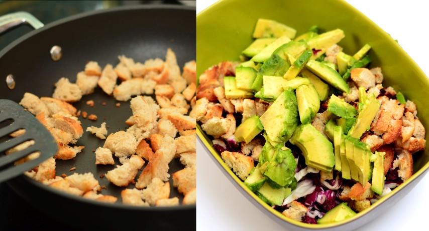 Thunfisch-Spiegeleier-Salat mit Avocado (Small)